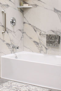 did you know that a tub liner can do much more than simply cover your outdated stained or damaged tub bath liners from nubath can help you create the
